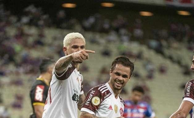 Pedro, do Flamengo, revela lance que impressionou rival e resenha com o Michael após gol contra o Fortaleza
