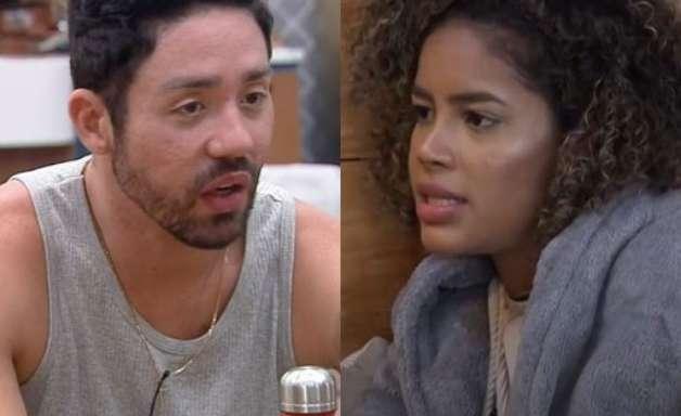 """Em """"A Fazenda"""", Rico questiona Sthefane sobre Bil: """"Seu marido está feliz?"""""""