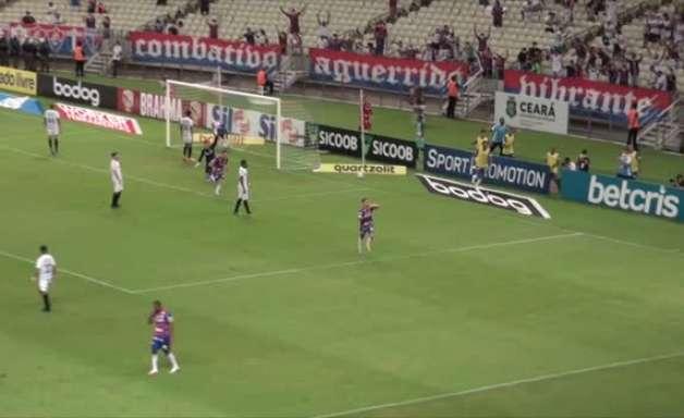 SÉRIE A: Gol de Fortaleza 1 x 0 Grêmio