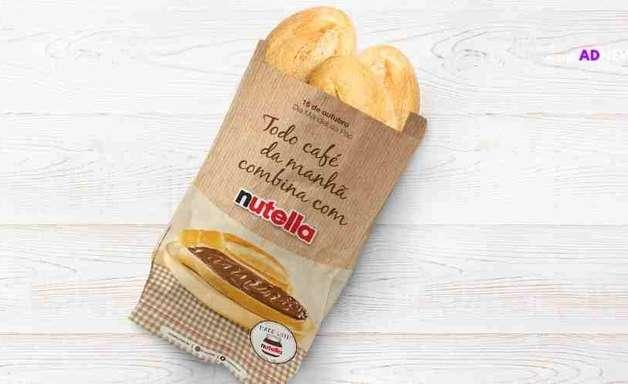 Nutella celebra o Dia Mundial do Pão no ambiente digital e pontos de vendas