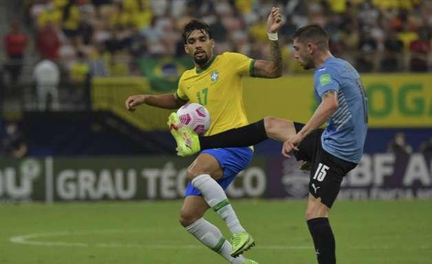Veloz e com boa visão de jogo, Paquetá ajuda a abrir caminho para a Seleção construir sua goleada