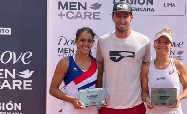 Laura Pigossi vence, em Lima, seu 40º título nas duplas