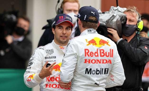 """""""Em alta"""", Horner vê dinâmica entre Perez e Verstappen como uma das melhores da Red Bull"""