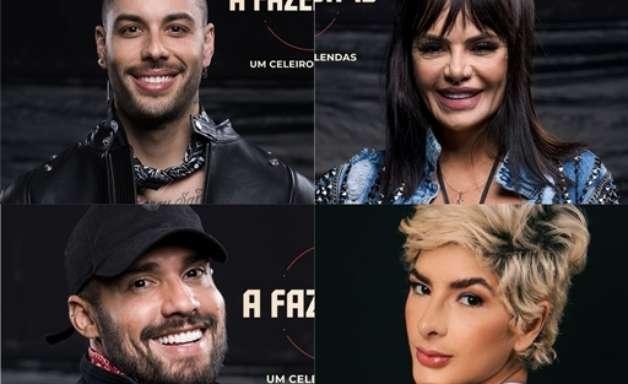 Gui Araújo, Bil, Valentina e Lary estão na roça da semana