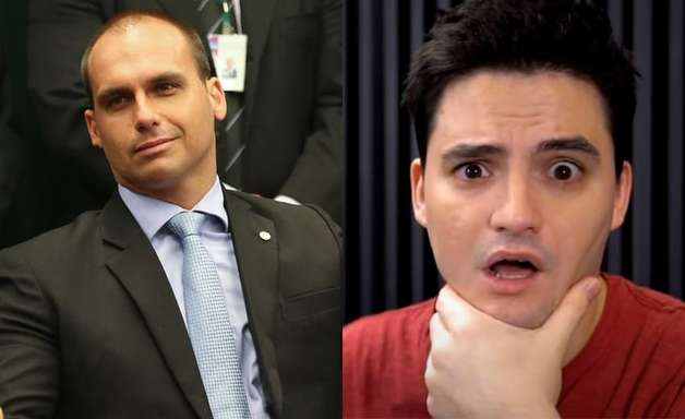 Eduardo Bolsonaro detona Felipe Neto após crítica ao governo