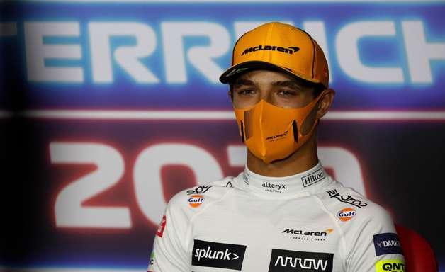 Norris afirma que nova atualização da Ferrari vai dificultar briga de construtores da F1
