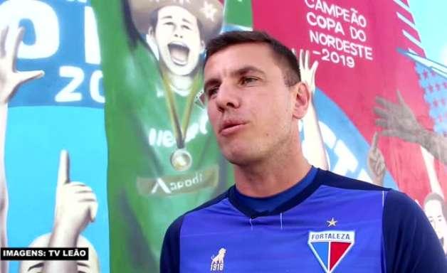 """FORTALEZA: Marcelo Boeck justifica cor verde de seu uniforme por sua passagem pela Chapecoense: """"Uma singela homenagem àqueles que partiram"""""""