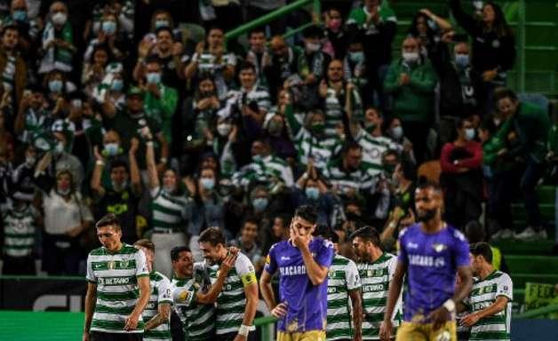 Sporting vence o Moreirense pela Primeira Liga, mas não assume liderança