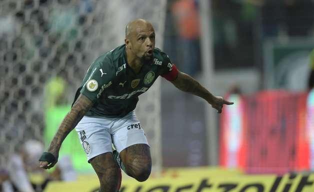 Palmeiras vira contra o Sport e reassume o 2º lugar no BR