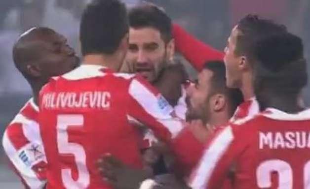Veja o gol de Panathinaikos 0 x 1 Olympiacos pelo Grego