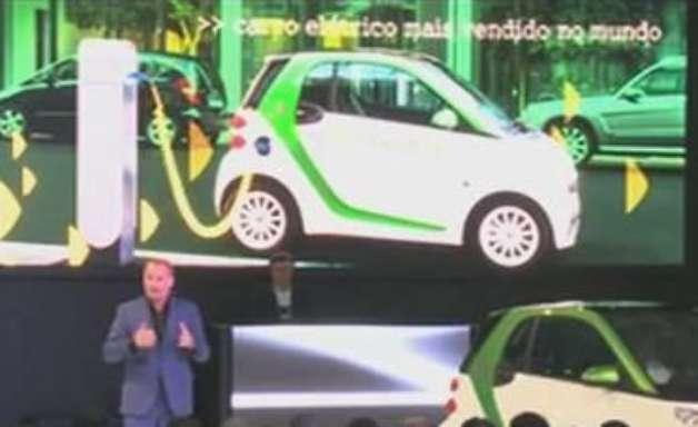 Smart Electric Drive é apresentado para a América Latina