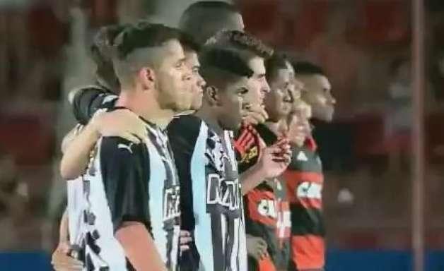 Copinha: veja lances de Flamengo (9) 0 x 0 (10) Atlético-MG