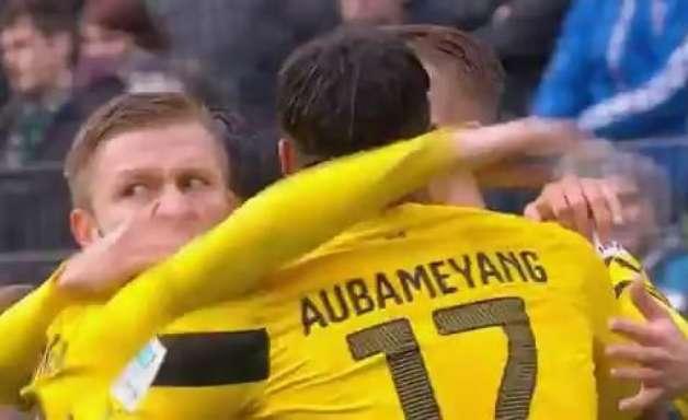 Veja os gols de Hannover 2 x 3 Borussia Dortmund pelo Alemão