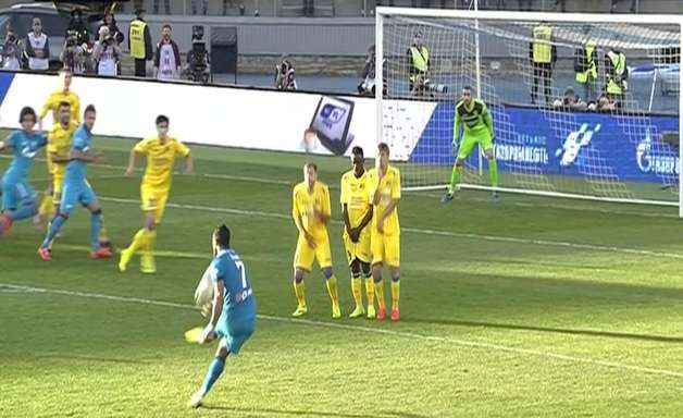 Hulk marca e Zenit vence Rostov pelo Russo; veja os gols
