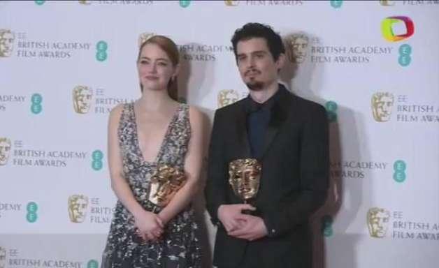 """Com cinco prêmios, """"La La Land"""" é o grande vencedor do Bafta"""