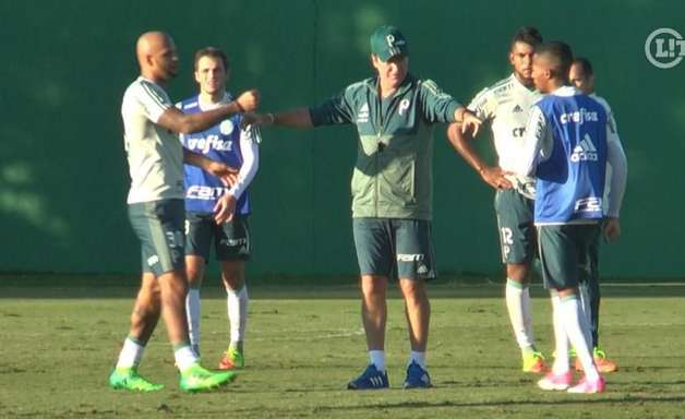 Cuca comanda primeiro treino em retorno ao Palmeiras