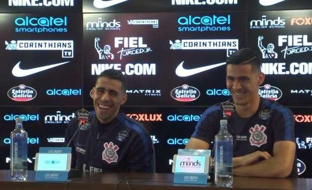Balbuena compara Corinthians com Golden State e sobra para Romero. Assista!