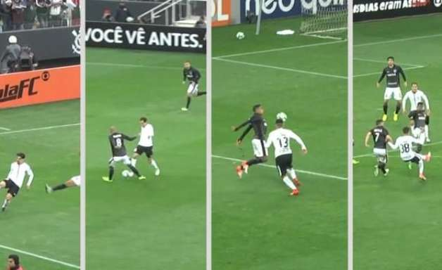 Jogadores do Corinthians distribuem dribles em vitória sobre o Botafogo