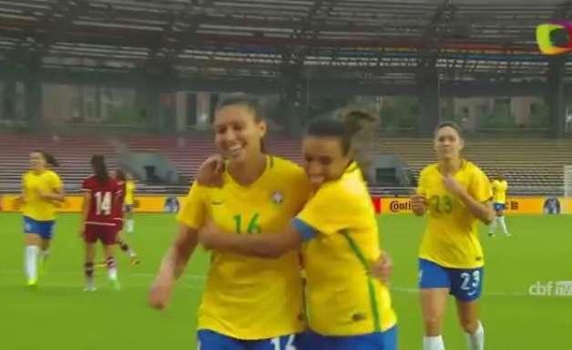 Seleção feminina bate México por 3 a 0 na Copa CFA