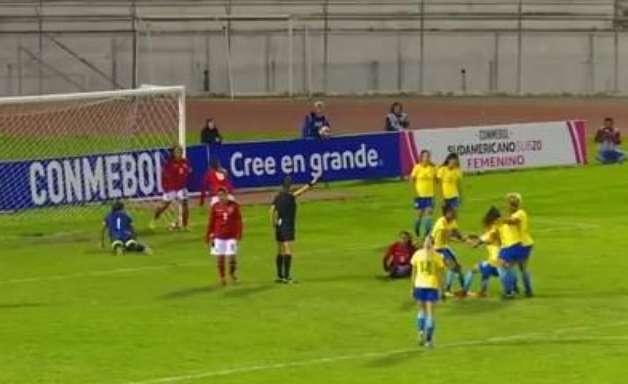 Brasil goleia a Bolívia no Sul-americano Feminino Sub-20