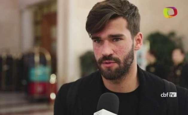 """""""Parece que está começando a Copa"""", diz o goleiro Alisson"""