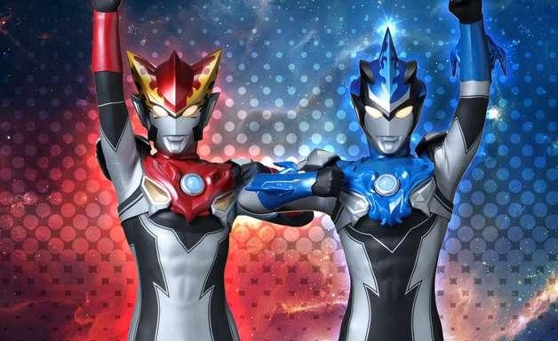 Ultraman R/B traz mudanças na fórmula dos heróis japoneses