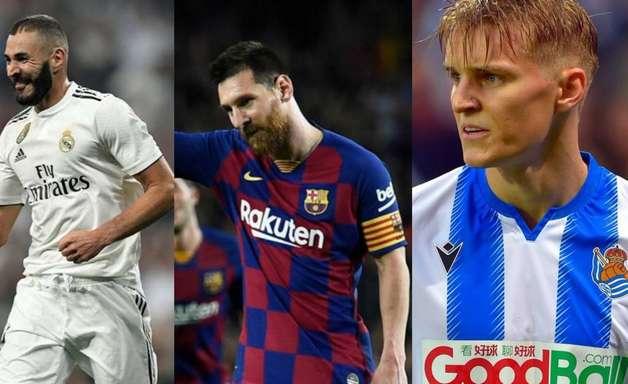 Diário 'Marca' escolhe seleção do 1º turno do Campeonato Espanhol