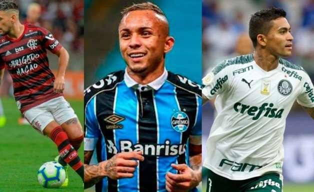 Os clubes mais valiosos do futebol brasileiro