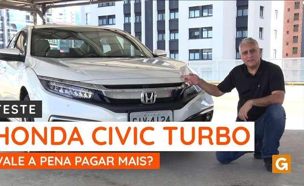 Vale a pena pagar mais pelo Honda Civic Touring com motor turbo?
