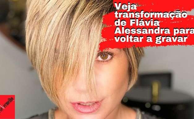 """Flávia Alessandra volta a ter visual de Helena, em """"Salve-se Quem Puder"""""""