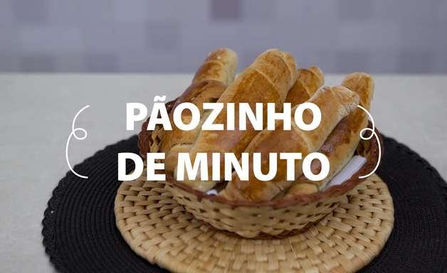 Pãozinho de minuto