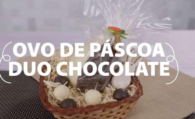 Ovo de Páscoa Caseiro Duo