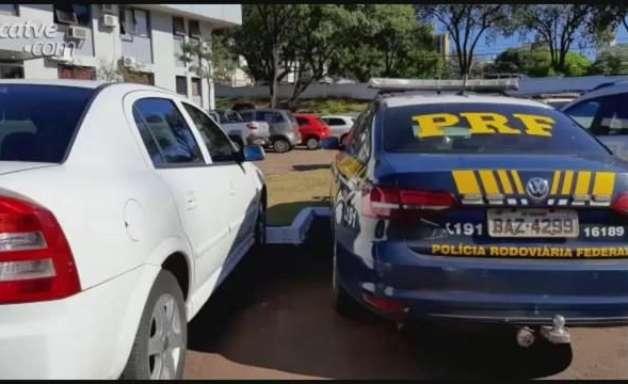PRF apreende 240 kg de maconha na BR 277; jovem de 24 anos foi detido
