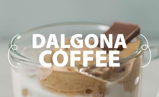 Dalgona Coffee: aprenda a receita queridinha da internet