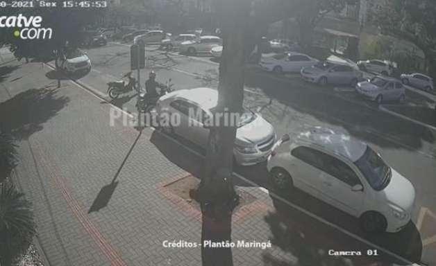 Suspeito furta moto e deixa outra no lugar em Maringá