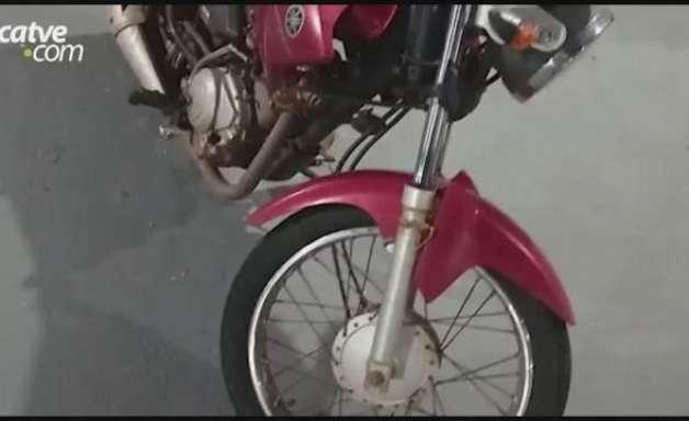 Menor é apreendido pela Rotam com motocicleta furtada em Toledo