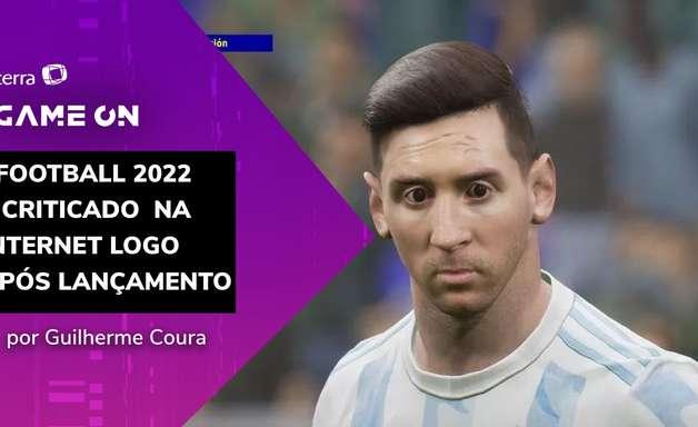 Substituto de PES, eFootball 2022 é criticado na web