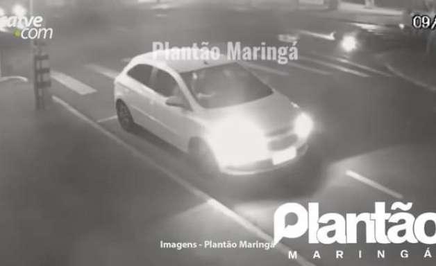 Câmeras registram momento de acidente que matou jovem em Sarandi