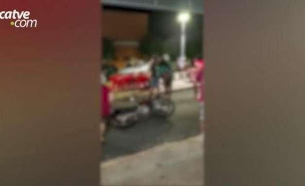 Vídeo mostra ladrões que levaram surra em tentativa de assalto, no Paraná