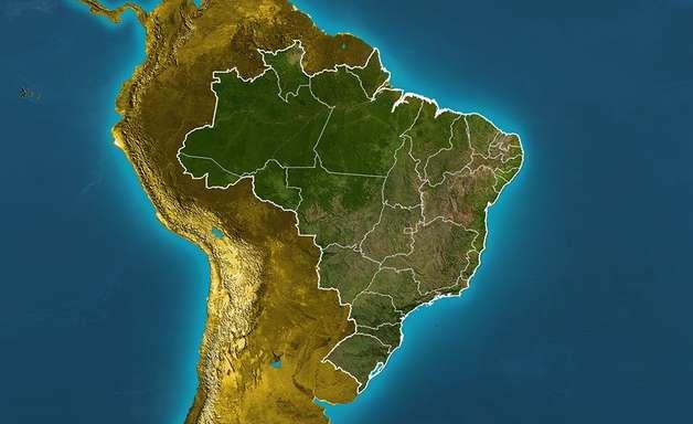 Previsão Brasil - Chuva intensa e volumosa em grande parte do país.