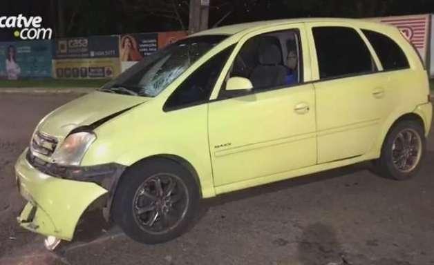 Motociclista de 26 anos fica ferido em acidente de trânsito no Jardim Consolata