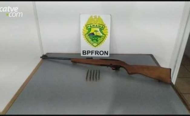 Homem é detido por porte ilegal de arma de fogo em Pato Bragado