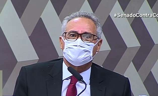 """Renan inclui Heinze em lista de indiciados: """"presente"""""""