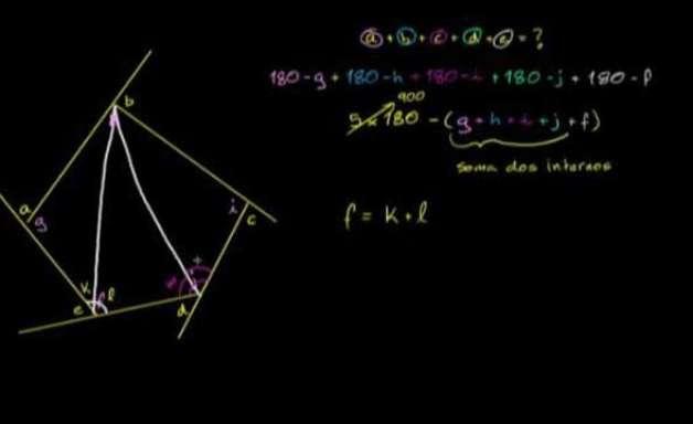 Problema do desafio do ângulo do triângulo