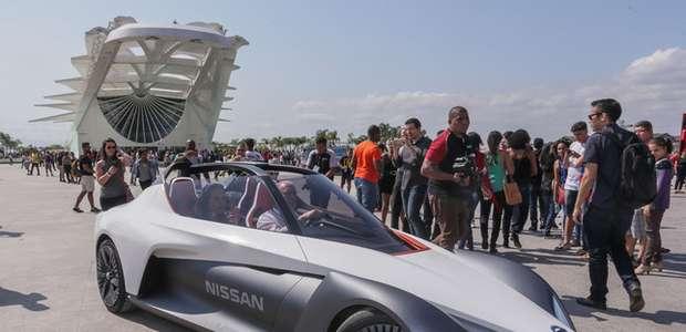 Nissan BladeGlider sorprende en las calles de Río de Janeiro
