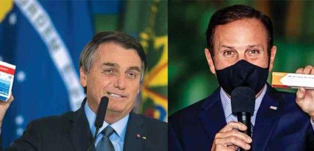 Bolsonaro proíbe ministros de atenderem Doria, diz jornal