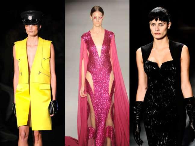 Logo no primeiro dia de desfiles do São Paulo Fashion Week, os decotes tiveram grande apelo nas grifes. Confira aqui no <B>Terra</B> as principais imagens com os ousados cortes dos estilistas para a semana de moda paulistana