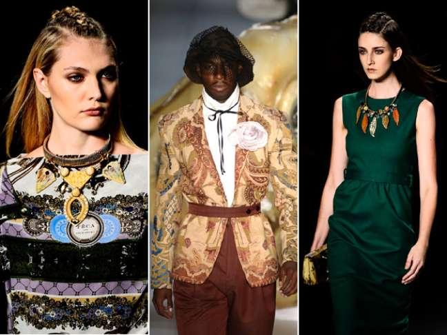Acessórios são parte fundamental na composição dos looks criados pelos estilistas
