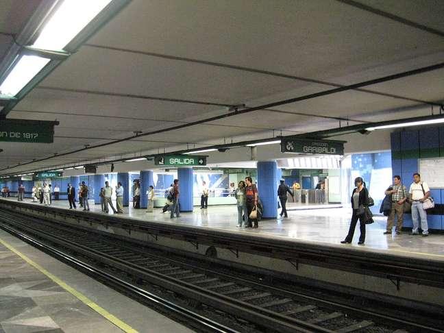O metrô mexicano é o sétimo maior do mundo, com 201 km de trilhos