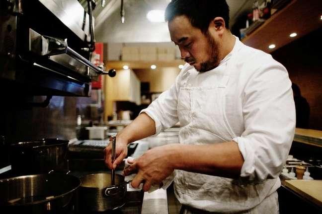 O chef americano disse que não usa o azeite em sua gastronomia